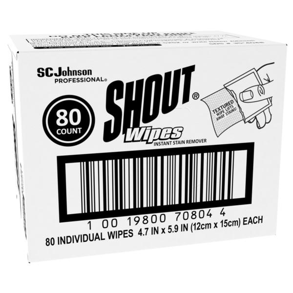 SC Johnson Professional® Shout® Wipes Instant Stain Remover