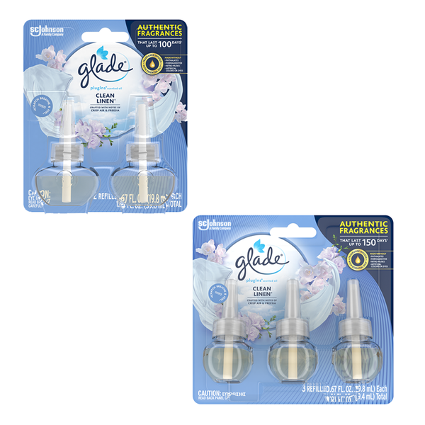 Clean Linen® Glade® Plugins® Scented Oil