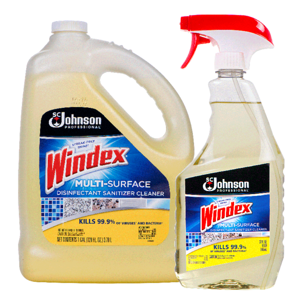 SC Johnson Professional® Windex® Multi-Surface Disinfectant Sanitizer Cleaner