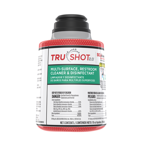 TruShot 2.0™ Multi-Surface, Restroom Cleaner & Disinfectant