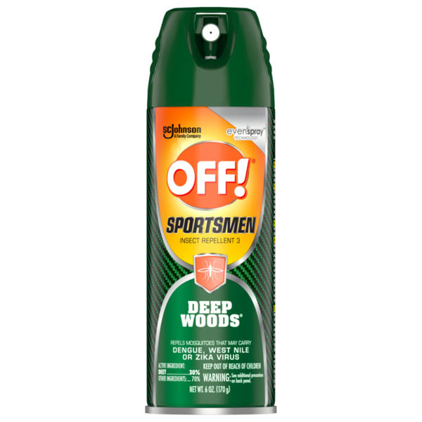 OFF! Sportsmen™ Deep Woods® Aerosol Repellent