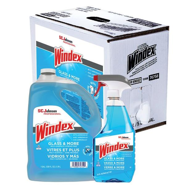 SC Johnson Professional® Windex® Glass & More Multi-Surface, Streak-Free Cleaner