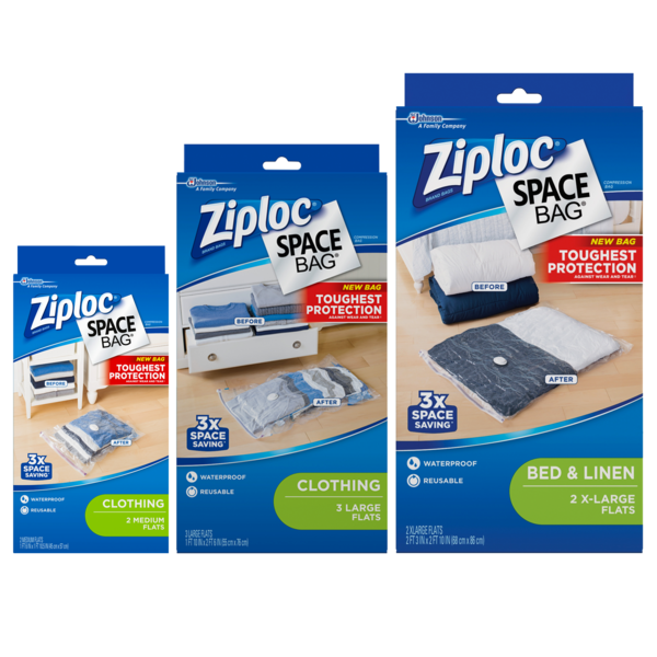 Ziploc® Space Bag® Closet Storage Solutions
