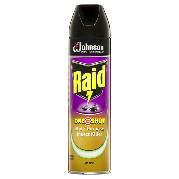 Raid® One Shot Multipurpose Insect Killer Citrus 375G