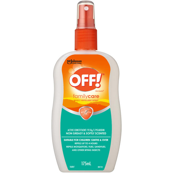 Off!® Skintastic FamilyCare Insect Repellent Spray 175mL