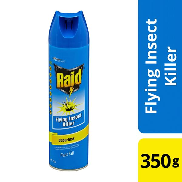 Raid® Flying Insect Killer Odourless 350g