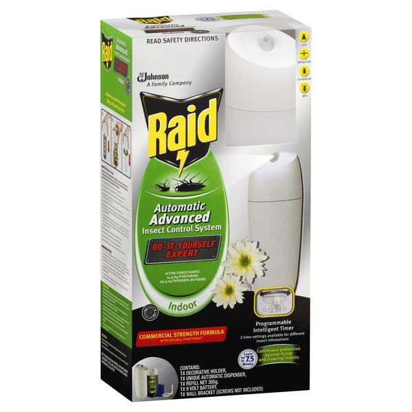 Raid® Indoor Automatic Advanced Insect Control System