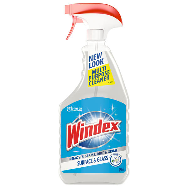 Windex® Surface & Glass Cleaner 750ml