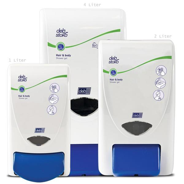 Deb Stoko® Dispensers Cleanse Shower