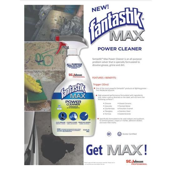 Fantastik® Max Power Cleaner Degreaser