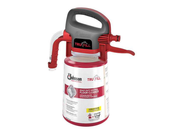 TruFill Heavy Duty Neutral Floor Cleaner Plus Dispenser-684501